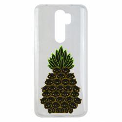 Чехол для Xiaomi Redmi Note 8 Pro Pineapple cat