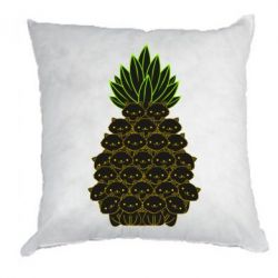 Подушка Pineapple cat