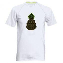 Чоловіча спортивна футболка Pineapple cat