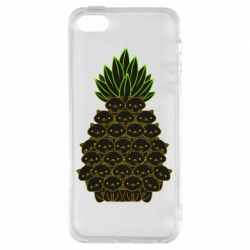 Чехол для iPhone5/5S/SE Pineapple cat