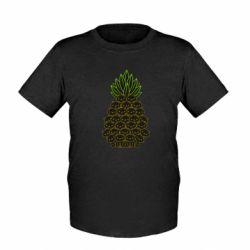 Дитяча футболка Pineapple cat