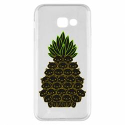 Чехол для Samsung A5 2017 Pineapple cat
