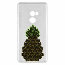 Чехол для Xiaomi Mi Mix 2 Pineapple cat