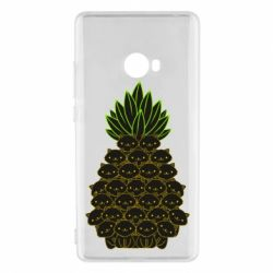 Чехол для Xiaomi Mi Note 2 Pineapple cat