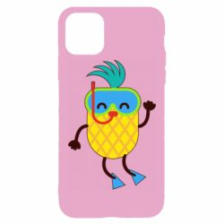 Чохол для iPhone 11 Pro Max Pineapple in flippers