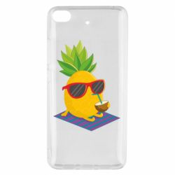 Чехол для Xiaomi Mi 5s Pineapple with coconut