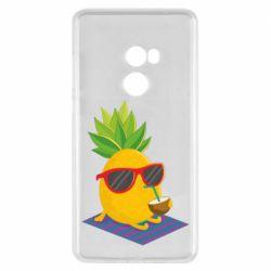 Чехол для Xiaomi Mi Mix 2 Pineapple with coconut