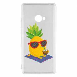Чехол для Xiaomi Mi Note 2 Pineapple with coconut