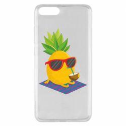 Чехол для Xiaomi Mi Note 3 Pineapple with coconut
