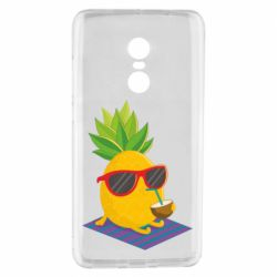 Чехол для Xiaomi Redmi Note 4 Pineapple with coconut