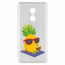 Чехол для Xiaomi Redmi Note 4x Pineapple with coconut