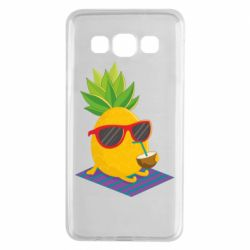 Чехол для Samsung A3 2015 Pineapple with coconut