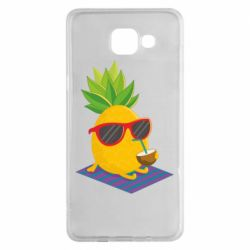 Чехол для Samsung A5 2016 Pineapple with coconut