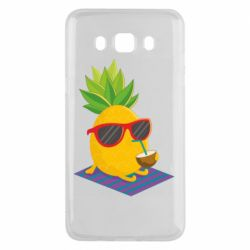 Чехол для Samsung J5 2016 Pineapple with coconut