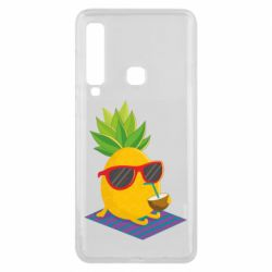 Чехол для Samsung A9 2018 Pineapple with coconut