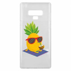 Чехол для Samsung Note 9 Pineapple with coconut