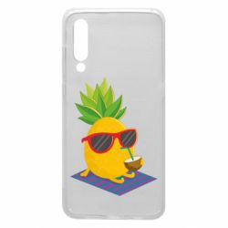 Чехол для Xiaomi Mi9 Pineapple with coconut