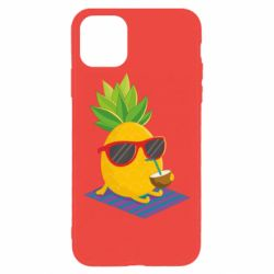 Чехол для iPhone 11 Pro Max Pineapple with coconut