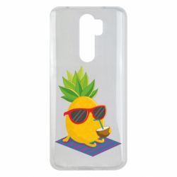 Чехол для Xiaomi Redmi Note 8 Pro Pineapple with coconut