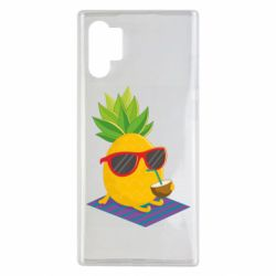 Чехол для Samsung Note 10 Plus Pineapple with coconut