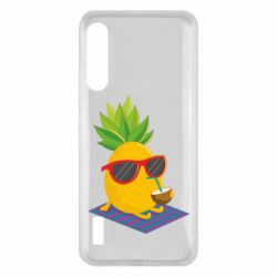 Чохол для Xiaomi Mi A3 Pineapple with coconut
