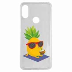 Чехол для Xiaomi Redmi Note 7 Pineapple with coconut