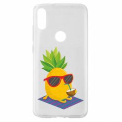 Чехол для Xiaomi Mi Play Pineapple with coconut