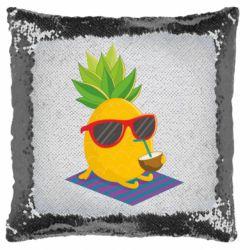 Подушка-хамелеон Pineapple with coconut