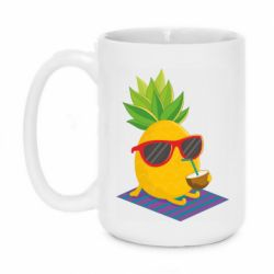 Кружка 420ml Pineapple with coconut