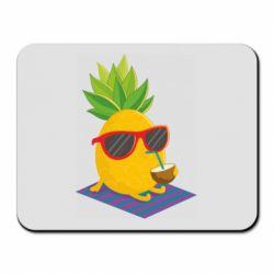 Килимок для миші Pineapple with coconut
