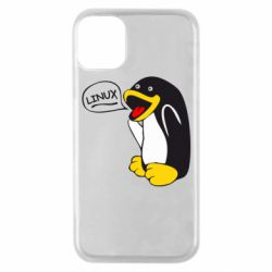 Чехол для iPhone 11 Pro Пингвин Линукс