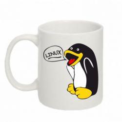 Кружка 320ml Пингвин Линукс - FatLine