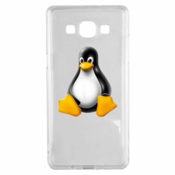 Чохол для Samsung A5 2015 Пингвин Linux