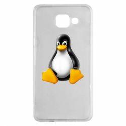 Чохол для Samsung A5 2016 Пингвин Linux