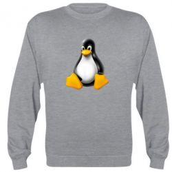 Реглан (свитшот) Пингвин Linux - FatLine