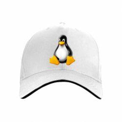 кепка Пингвин Linux - FatLine