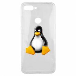 Чохол для Xiaomi Mi8 Lite Пингвин Linux