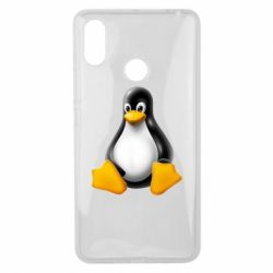 Чохол для Xiaomi Mi Max 3 Пингвин Linux