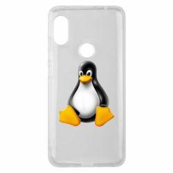 Чохол для Xiaomi Redmi Note Pro 6 Пингвин Linux