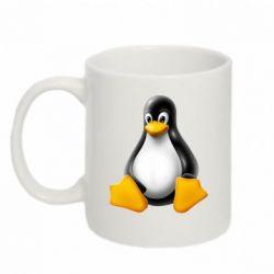 Кружка 320ml Пингвин Linux - FatLine