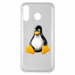 Чохол для Samsung M30 Пингвин Linux