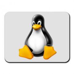 Коврик для мыши Пингвин Linux - FatLine