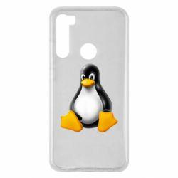 Чохол для Xiaomi Redmi Note 8 Пингвин Linux