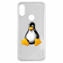 Чохол для Xiaomi Redmi Note 7 Пингвин Linux