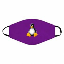 Маска для обличчя Пингвин Linux
