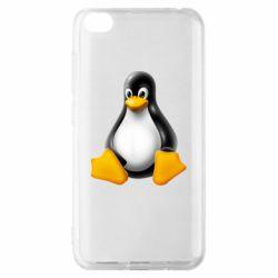 Чохол для Xiaomi Redmi Go Пингвин Linux