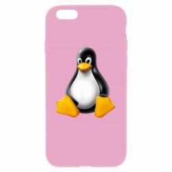 Чохол для iPhone 6/6S Пингвин Linux