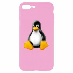 Чохол для iPhone 7 Plus Пингвин Linux