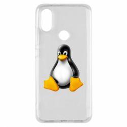 Чохол для Xiaomi Mi A2 Пингвин Linux