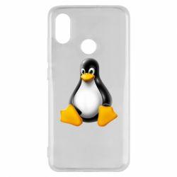 Чохол для Xiaomi Mi8 Пингвин Linux